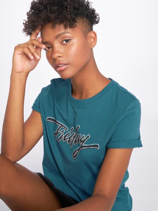 Pieces T-Shirt pcTrini Pb bleu