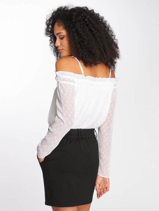 Pcdaria Longues 462946 Femme Manches T Pieces Blanc shirt H29IED