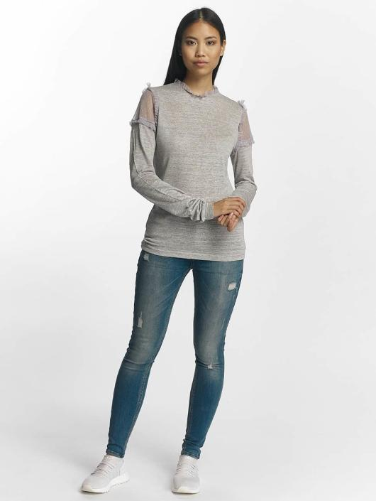 Pieces T-Shirt manches longues pcPenny gris