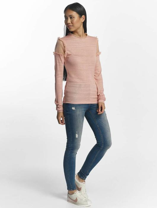 Pieces T-Shirt manches longues pcPenny rose