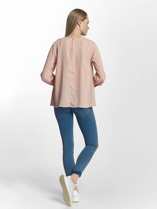 Pieces T-Shirt manches longues pcMacy rose