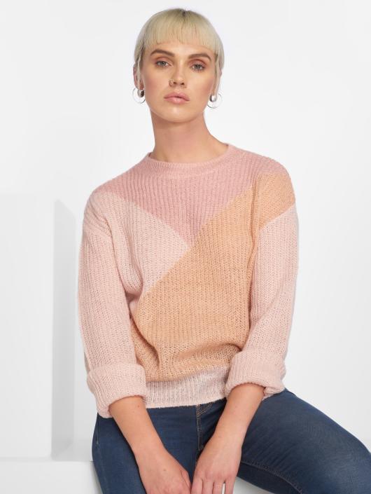 Manches Longues 521414 shirt Pcfrikka Femme Pieces Rose T F1cTlKJ3
