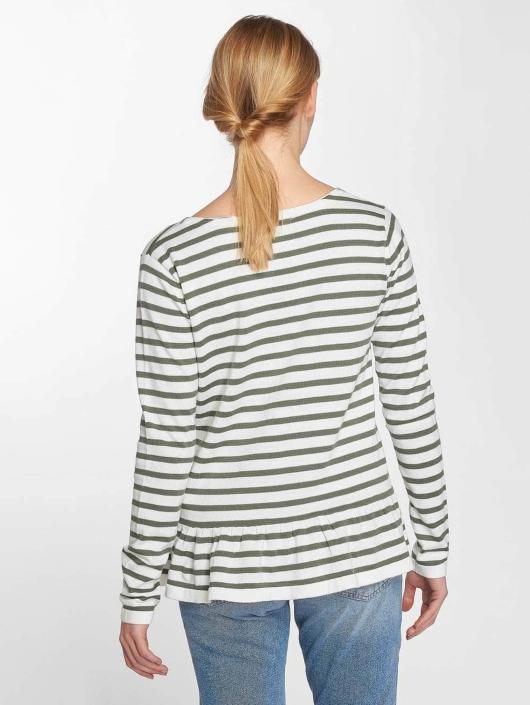 T Femme Manches Longues shirt Pieces Pcissa 395816 Vert PkZ0nN8wXO