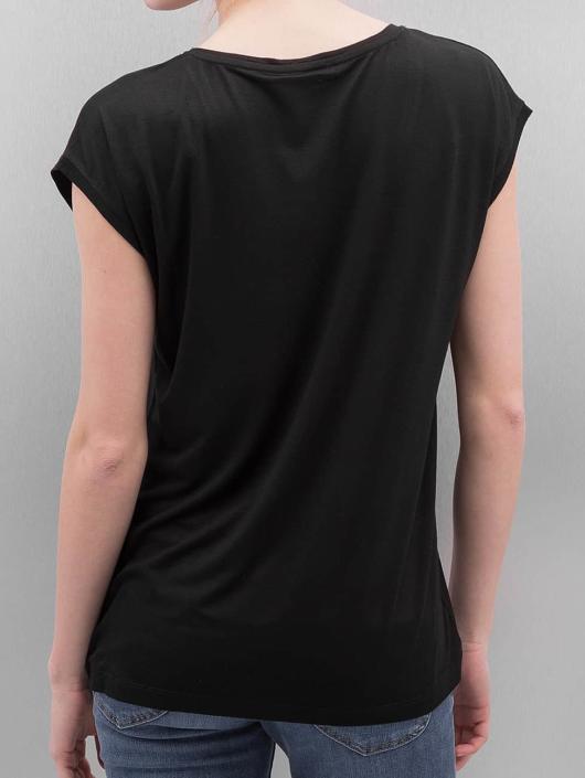 Pieces T-Shirt PCBillo Solid schwarz