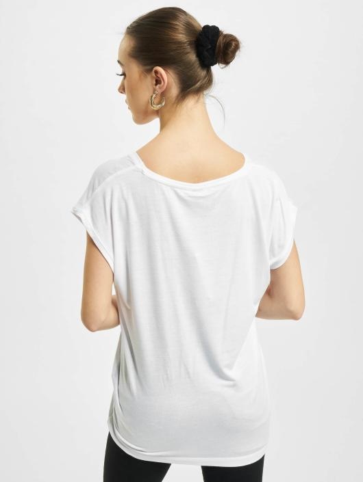 Pieces T-Shirt PCBillo Solid weiß
