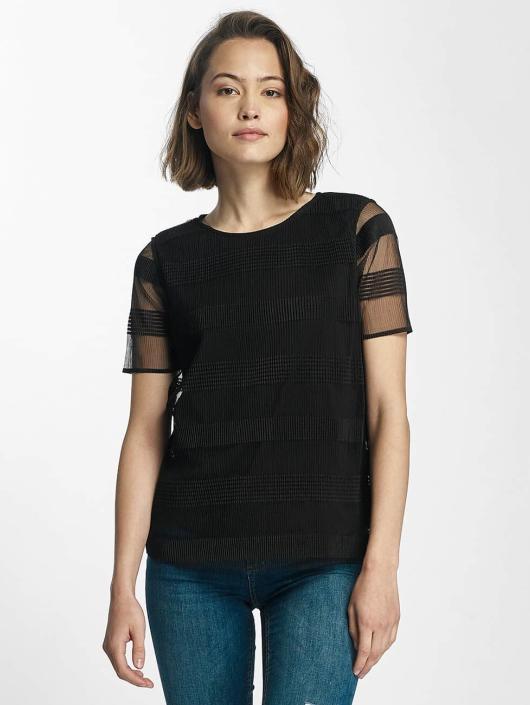Pieces t-shirt pcNatalie zwart