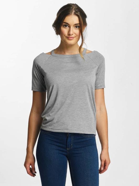 Pieces T-skjorter pcLaurel grå