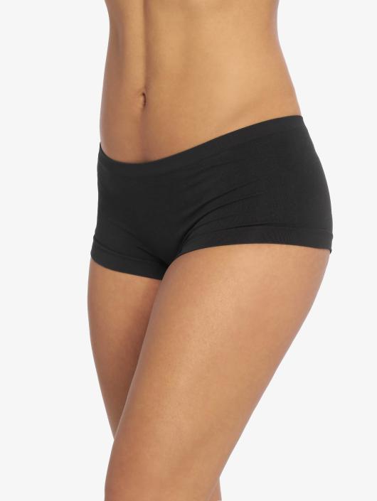 Pieces Underwear Plain Lowcut svart
