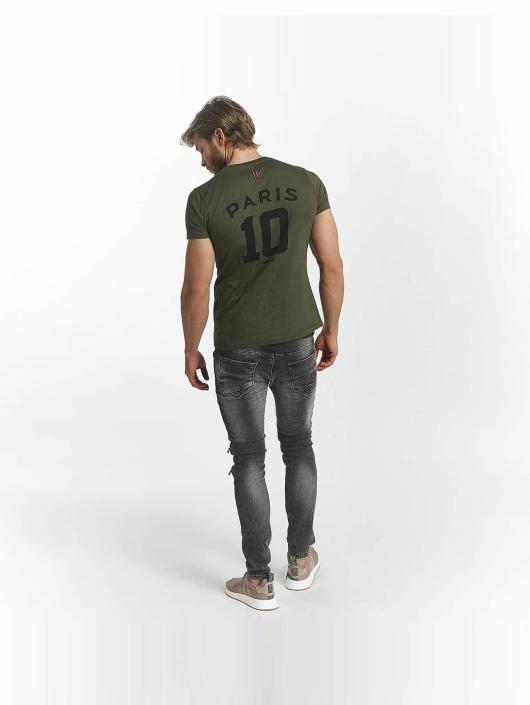 PSG by Dwen D. Corréa T-shirts Nahil khaki