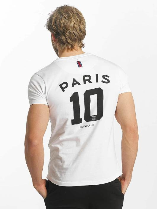 PSG by Dwen D. Corréa T-Shirty Nahil bialy
