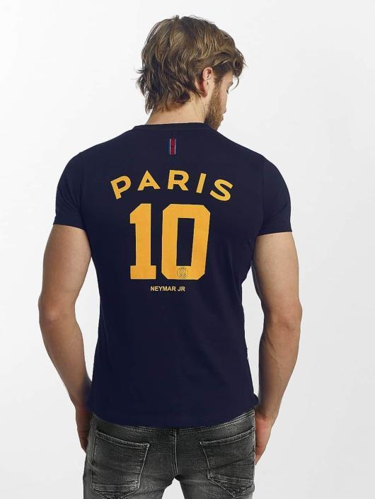 PSG by Dwen D. Corréa T-Shirty Nahil niebieski