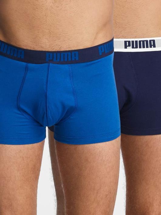 Puma Dobotex Underwear 2-Pack Basic Trunk blue