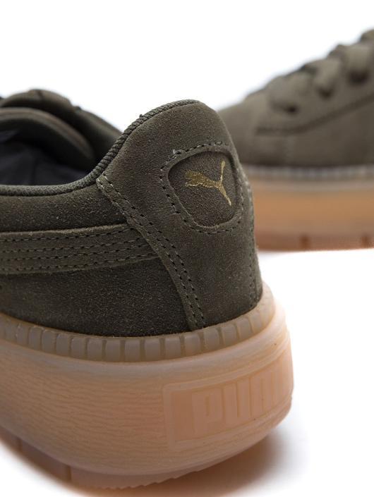 Puma Sneakers Suede Platform zielony