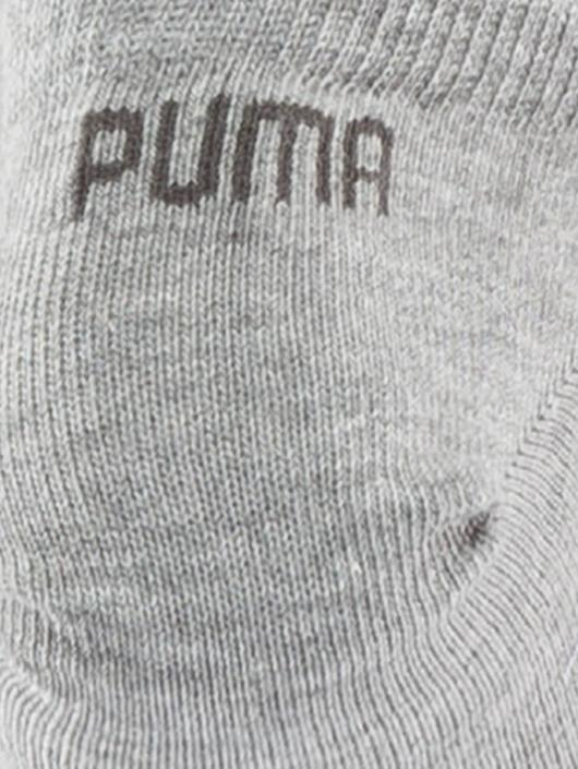 Puma Socks 3 Pack Sneaker Plain gray