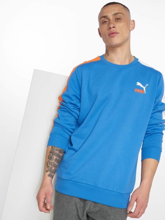 Puma Swetry Classics T7 niebieski