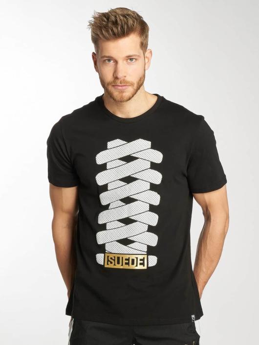 Puma T-shirt Suede nero