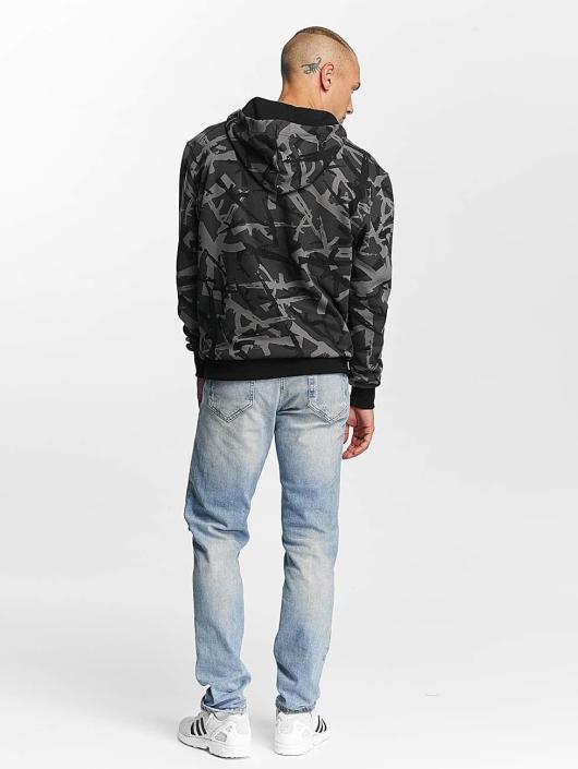 Pusher Apparel Bluzy z kapturem AK Camo moro