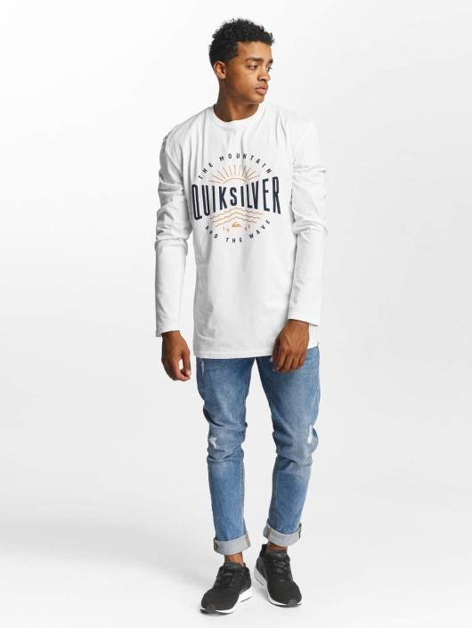 Quiksilver Longsleeve Classic Mad Wave weiß