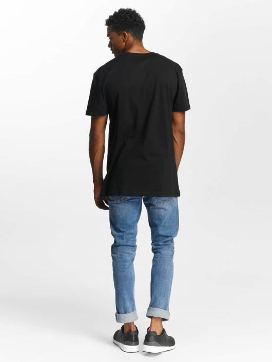 Quiksilver T-paidat Premium East Stacked musta