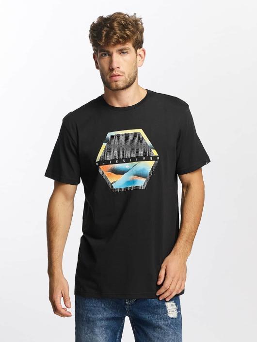 Quiksilver T-Shirt Classic Comfort Place black