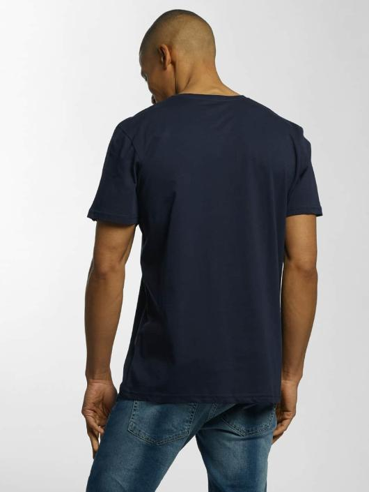 Quiksilver T-Shirt Classic Active Logo blau