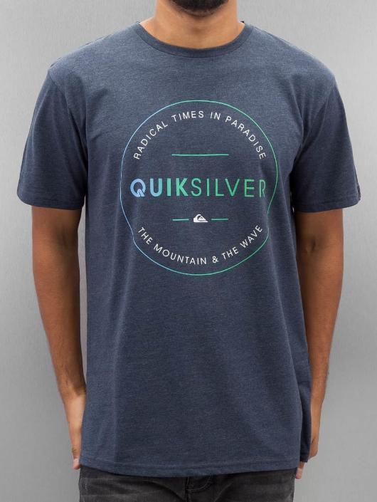 Quiksilver T-Shirt Free Zone Heather blue
