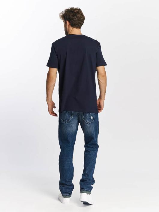 Quiksilver T-Shirt Classic Coast Lines blue
