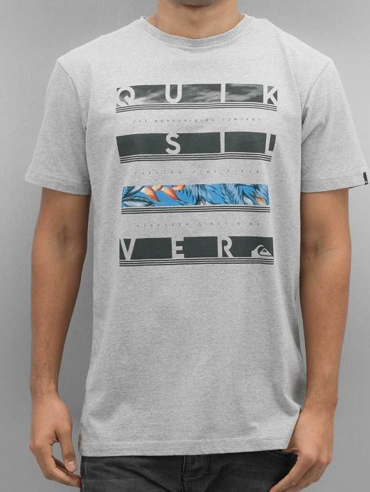 Quiksilver T-Shirt Read Between grey