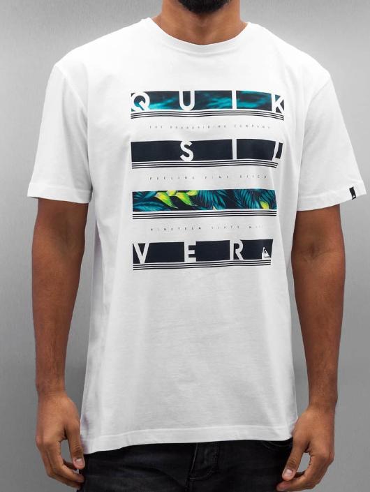 Quiksilver T-Shirt Read Between white