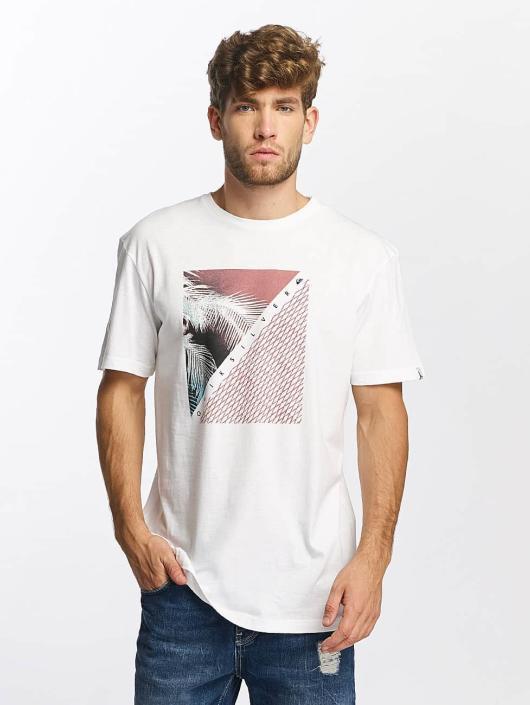 Quiksilver T-Shirt Classic Coast Lines white