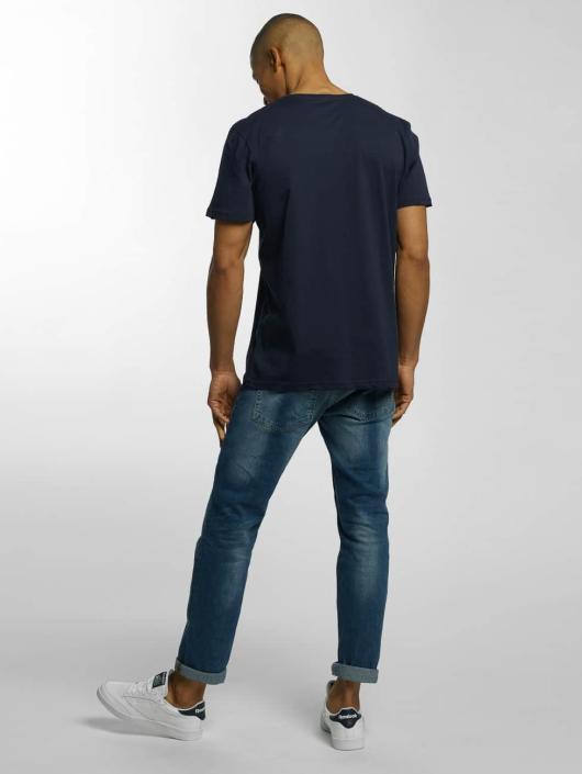 Quiksilver T-shirts Classic Active Logo blå