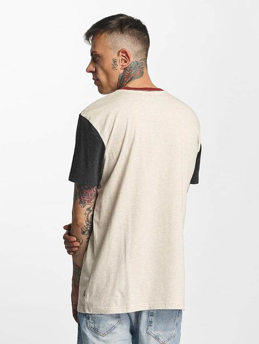 Quiksilver T-Shirty Baysic Pocket bezowy