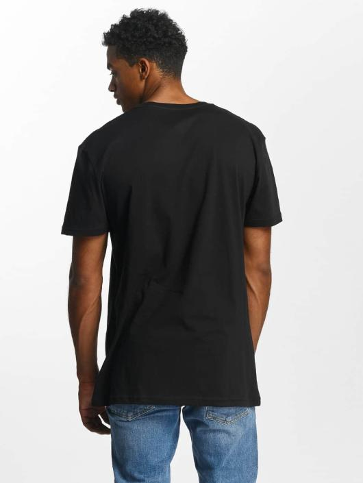 Quiksilver T-skjorter Premium East Stacked svart