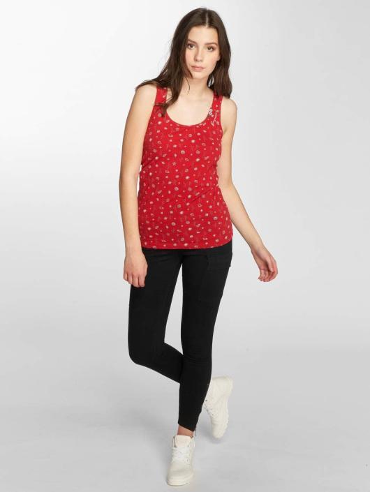 Ragwear Hihattomat paidat Kick Organic punainen