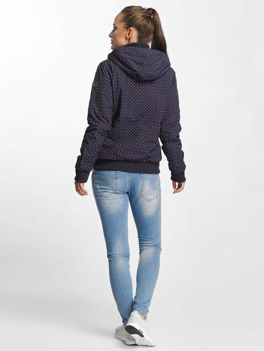 Ragwear Manteau hiver Nuggie bleu