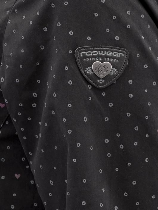 Ragwear Övergångsjackor Paulina Dots svart