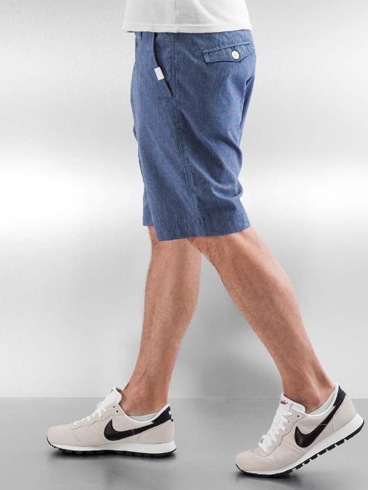 Ragwear Shorts Karel Microchecks blå