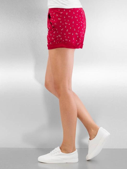 Ragwear Shorts Norah Navy röd