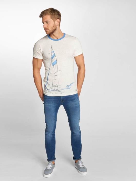 Ragwear T-paidat City valkoinen
