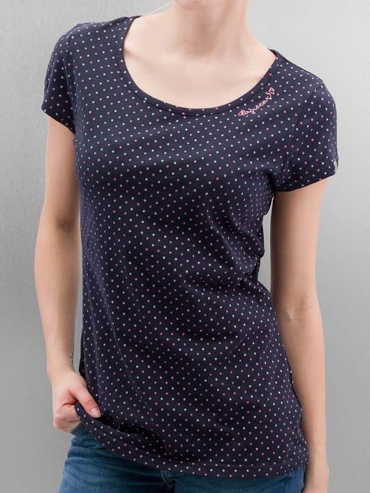 Ragwear T-shirt Mint Dots blå