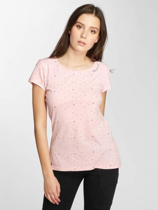 Ragwear top Mint Hearts pink