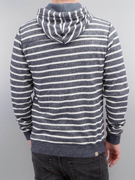 Ragwear Zip Hoodie Marty Stripes Organic blå