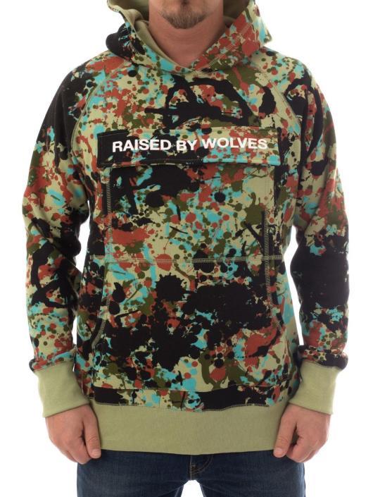 Raised by Wolves Hoodie  brown