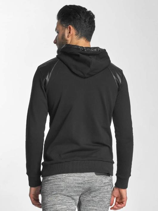 Red Bridge Hoodie PU black