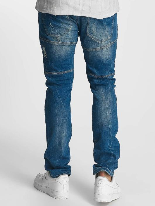 Red Bridge Jean coupe droite Ripped Patches bleu