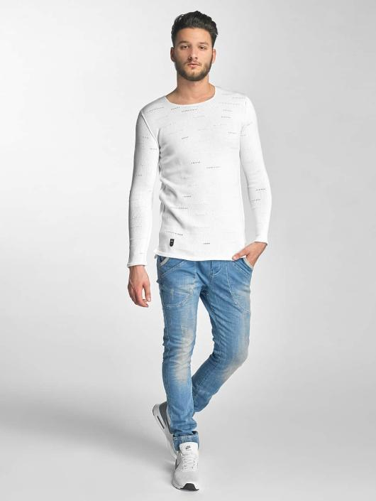 Red Bridge Jumper Knit white