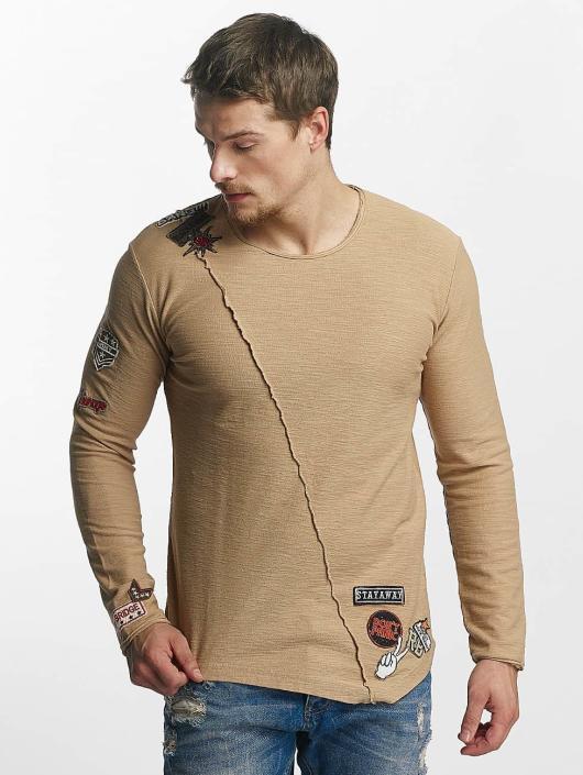 Red Bridge Pitkähihaiset paidat Paul ruskea
