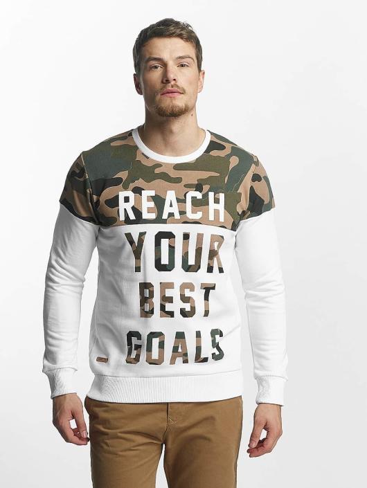 Red Bridge Pitkähihaiset paidat Goals valkoinen