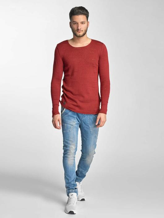 Red Bridge Pullover Knit red