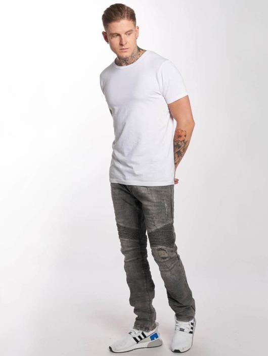 Red Bridge Slim Fit Jeans Used grijs